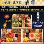 みんなのお祝いグルメ:赤坂 三河家「清雅」(画像小)