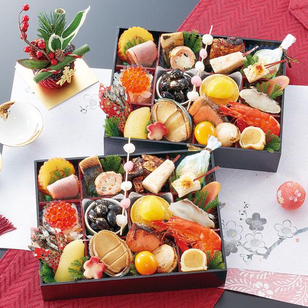 匠本舗:京都御所南 京料理「やまの」監修 個食二段重 双葉