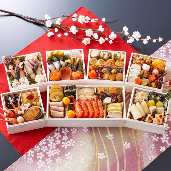 匠本舗:京都御所南 京料理「やまの」監修 七箱与段重 一陽来復