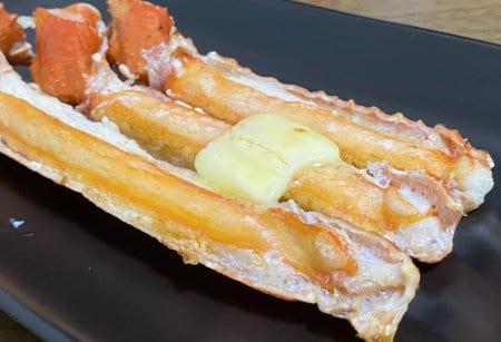 トゲズワイガニ食レポ トゲズワイガニのバター焼き
