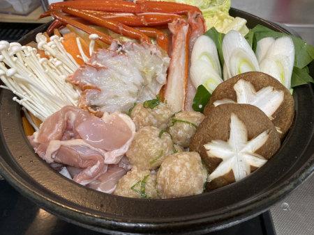トゲズワイガニ食レポ トゲズワイガニin土鍋