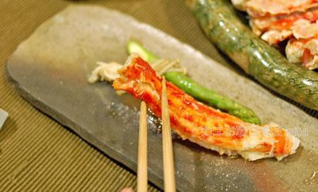 食レポ「タラバガニ」:バター焼き食べる